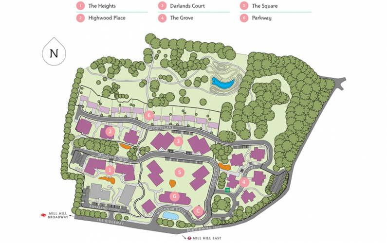 Site plan – Ridgeway Views