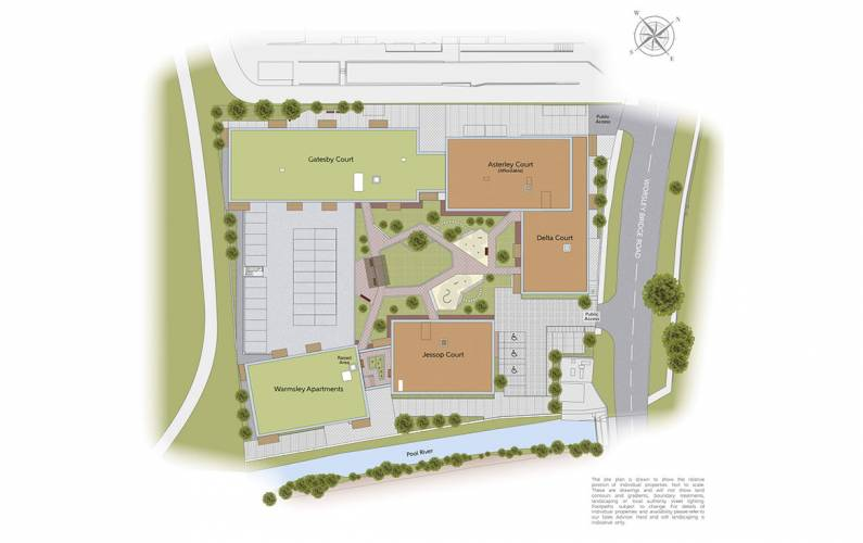 Site plan – Maybrey Works