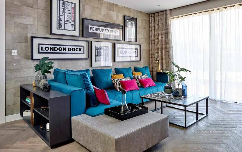 Interior design – London Dock