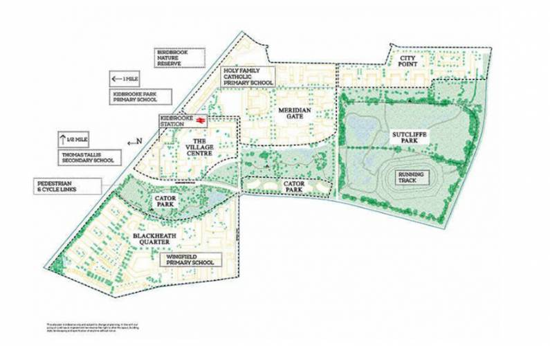 Site plan – Kidbrooke Village