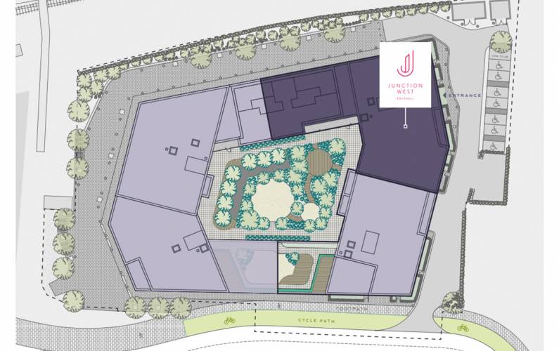 Site plan – Junction West
