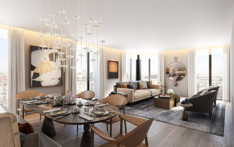 Interior design – The Residences Mandarin Oriental