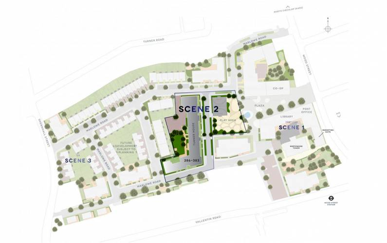 Site plan – Feature 17
