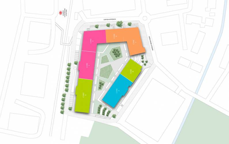 Site plan – Dylon Works