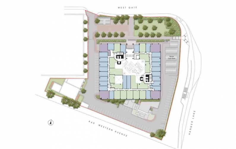Site plan – Westgate House
