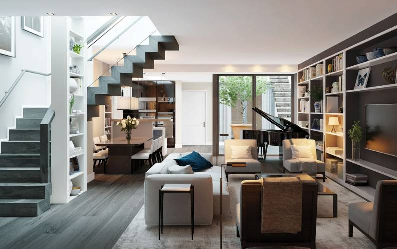 Interior design – 21 Young Street