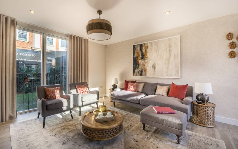 Interior design – Woodside Square