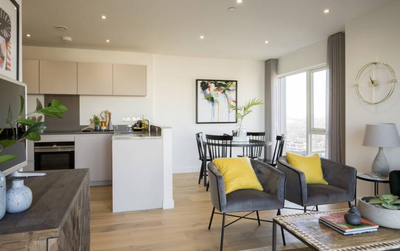 Interior design – New Union Wharf