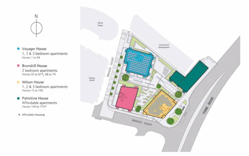 Site plan – Viewpoint