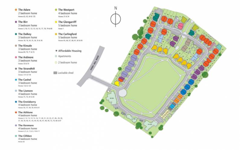 Site plan – Waterford Place