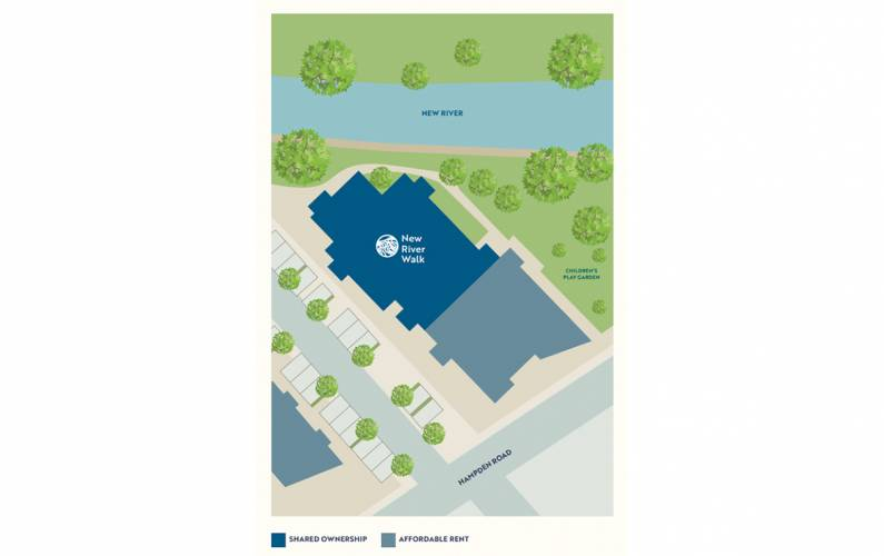 Site plan – New River Walk