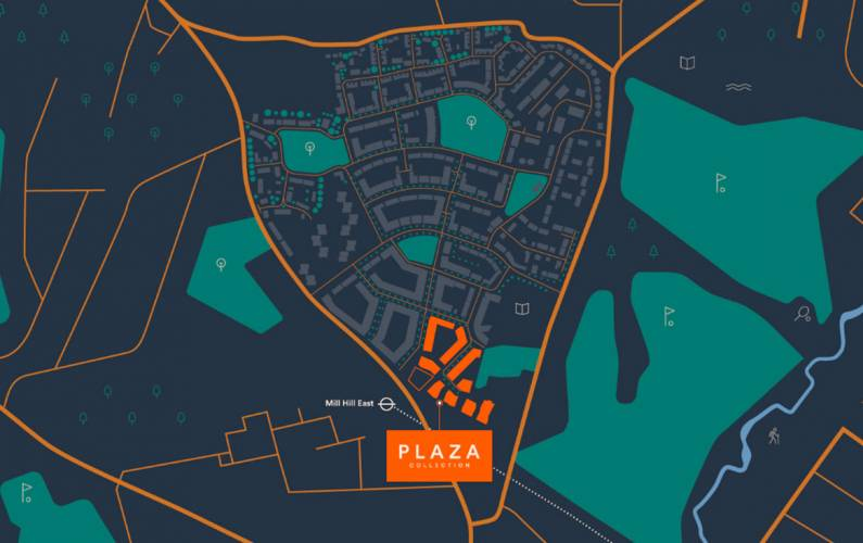 Site plan – Plaza Collection