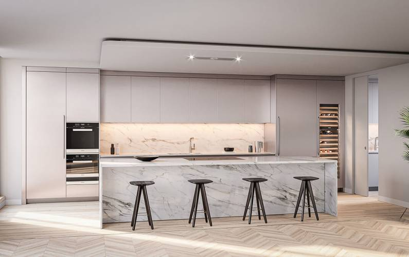 Interior design – Marylebone Square