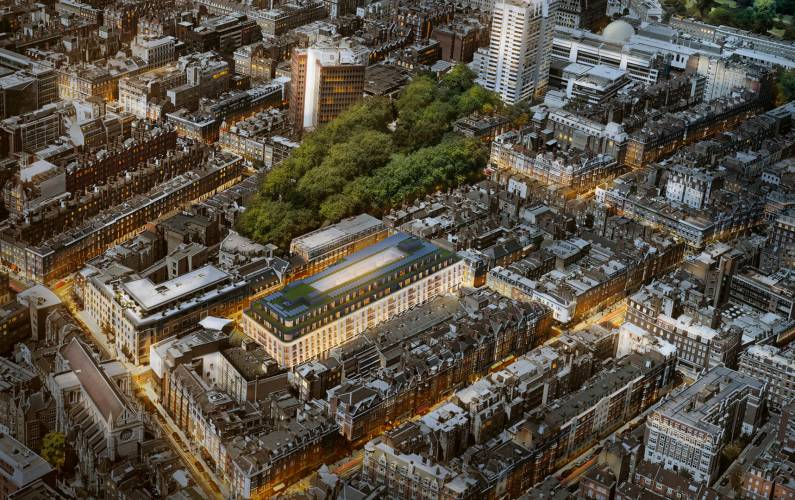 Site plan – Marylebone Square