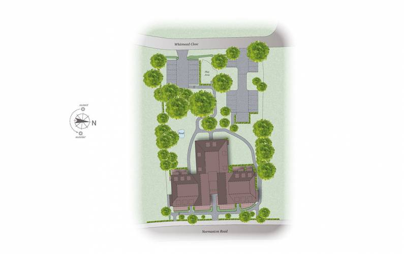 Site plan – Tilbury Lodge