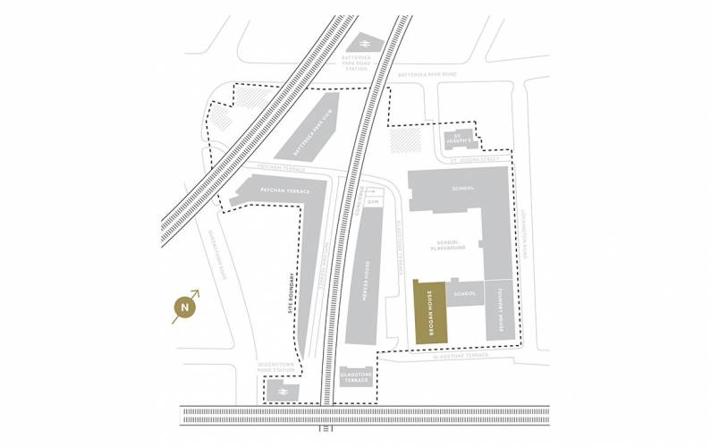 Site plan – Battersea Exchange