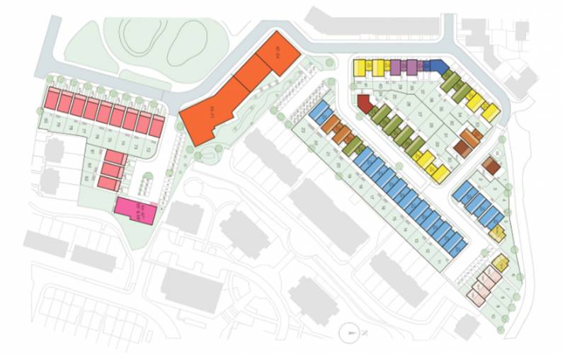 Site plan – Millbrook Park