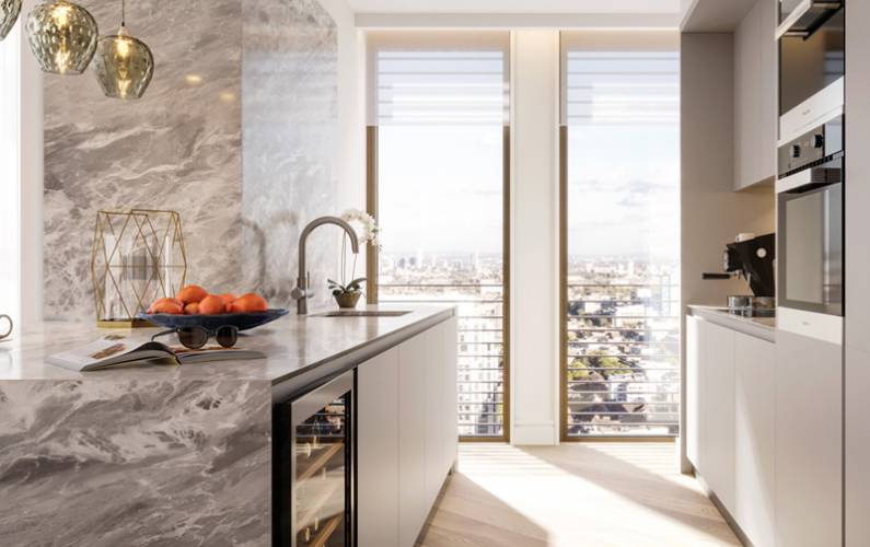 Interior design – One Bishopsgate Plaza