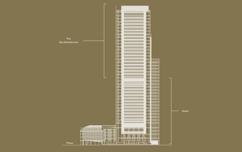 Site plan – One Bishopsgate Plaza